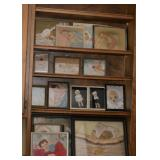 Vintage Folk Art Ribbon Doll Baby Pictures (there is a large collection of these)