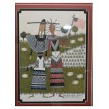 Catherine Grunewald Folk Art / Artwork, Framed