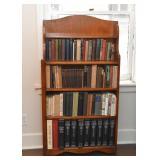 Small Wooden Bookshelf / Bookcase