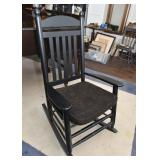 Lovely Black Rocking Chair / Rocker (like new)