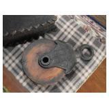 Industrial Metal & Wood Pulley