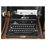 Manual Typewriter with Case