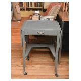 Metal Typewriter Table