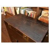 Antique Asian Chest with Brass Hardware