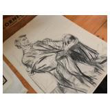 Abraham Lincoln Drawing