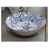 Asian Dinnerware - Soup & Rice Bowls (Blue & White)