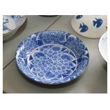 Dinnerware - Bowls (Blue & White)
