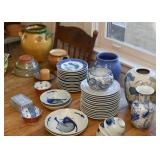 Dinnerware - Dishes - Pottery - Vases