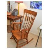 Vintage Wooden Rocking Chair / Rocker