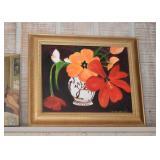 Framed Artwork / Painting - Floral