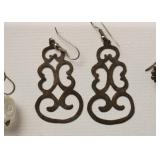 Jewelry - Earrings (some sterling, Mexican silver & costume)