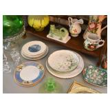 Vintage China Plates & Dishes