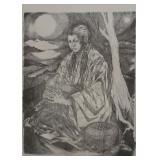 Framed Limited Edition Artwork, Signed & Numbered