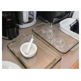 Baking Dishes, Mortar & Pestle, Glass Juicers