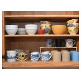 Coffee Mugs, Cereal & Soup Bowls