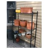 Utility Shelving, Garden Flower Pots & Planters