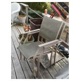 Outdoor Garden / Patio Dining Chairs (there are 4 of these)