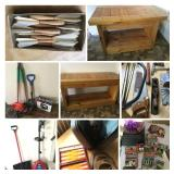 Tools, Tables, and Vintage Fun- Bidding ends 6/6