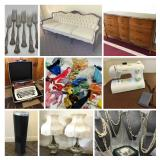 Small Appliances, Furniture, Jewelry & More- Bidding ends 6/13