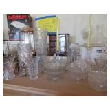 crystal vases etc from Poland