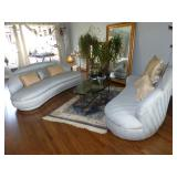 """Area rug & large mirror """"Not For Sale"""""""