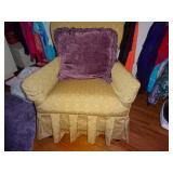 antique rocker swivel chair