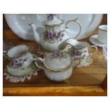 antique teapot set