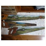 painted saws