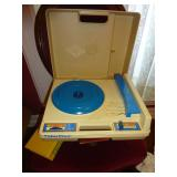 Antique Fisher Price record player