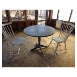 drop leaf table chairs