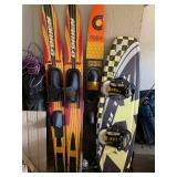 obrien water skis  and Nash sports wakeboard and slalom cypress gardens skis