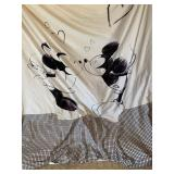 Micky Minnie Mouse comfort cover with feather bed