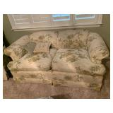 love seat with matching chair