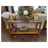 sofa table w/matching end tables & coffee table