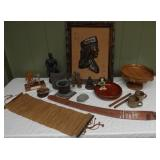 WVT035 Wooden Club, Picture, Bowls, Figurines and More!