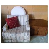 WVT079 Fabric Chair #2 and Coffee Table