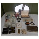 WVT123 Costume Jewelry, Trinket Boxes, Vintage Lighter and More!