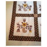 handmade Amish quilt