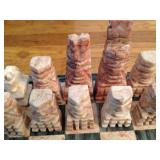 marble chess set/board