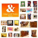 Ampersand Estate Sale in Chicago, IL. June 25, 26 & 28, 2021