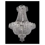 CRYSTAL FRENCH EMPIRE STYLE CHANDELIER WITH FREE SHIPPING