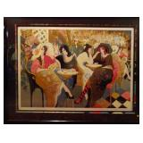 HUGE ISAAC MAIMON LIMITED EDITION SERIGRAPH, SIGNED AND NUMBERED