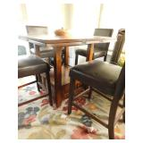 Pub Height bistro table for (4) with drop leaves