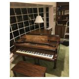 1888 Sohmer Baby Grand Piano