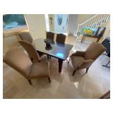 Restoration Hardware Taylor Dining Room Table w/ 6 chairs