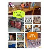 Historic Salisbury Estate Sale, Final Weekend