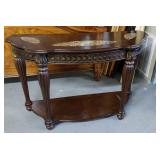 Formal Demi Lune Table