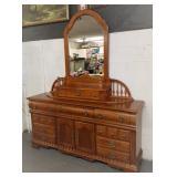 Lg. Ornate Dresser