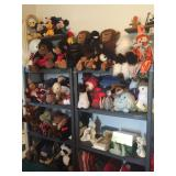 Stuffed toy collection