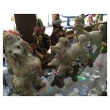 Vintage poodle collection